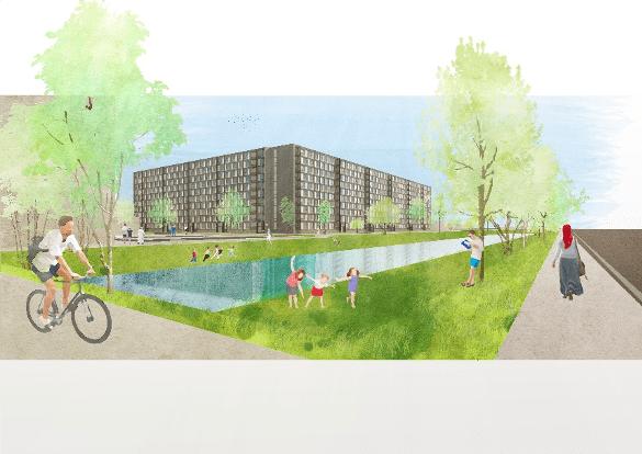 Renovatie van ruim 360 woningen in Utrechtse wijk Overvecht gestart