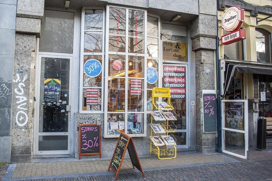 Strip- en Lectuurshop aan Oudegracht sluit op 1 juni na dertig jaar de deuren