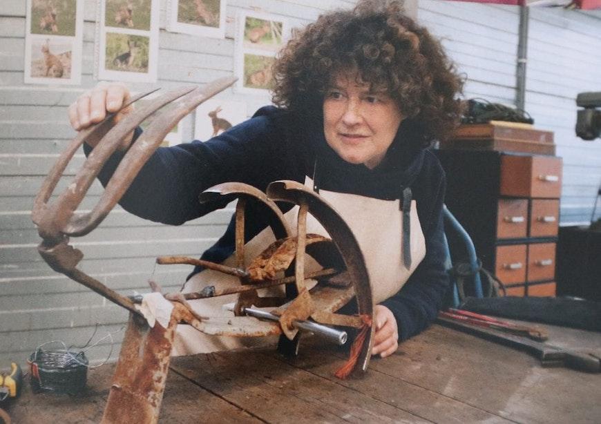 Utrechtse kunstenaars: bevlogen beeldenmaker Pinky Messchaert