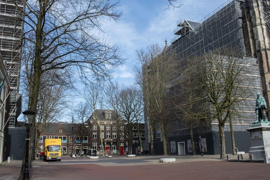 Eerste werkdag in Utrecht na nieuwe coronamaatregelen; Erg rustig maar niet uitgestorven