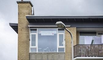 Foto's: Dit plaatsen Utrechters achter het raam in tijden van corona