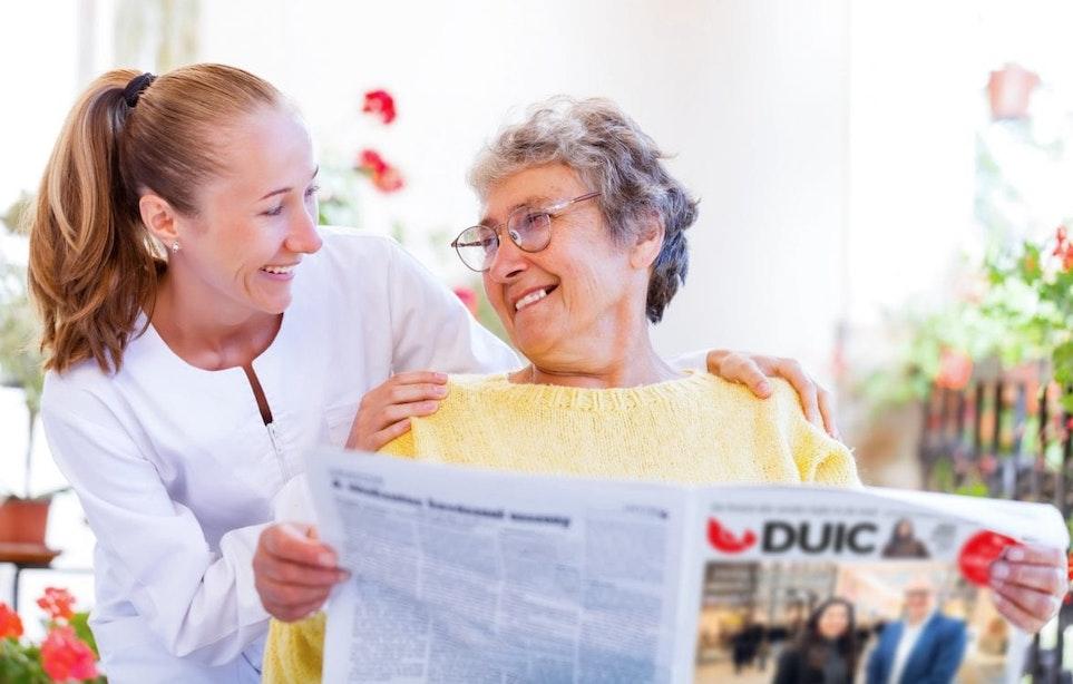 Verras jouw moeder met een bericht in de krant