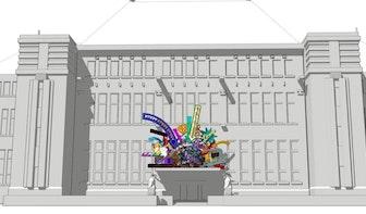 Commissie Welstand en Monumenten voorlopig positief over kunstwerk op Rijksmonument Post Neude