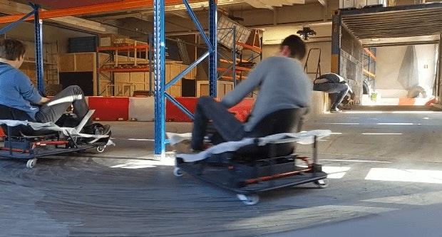 Utrecht krijgt deze zomer Crazy Kartbaan in loods aan Admiraal Helfrichlaan