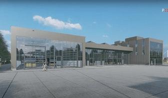 Provincie Utrecht begonnen met bouw van nieuwe busremise bij P+R Westraven