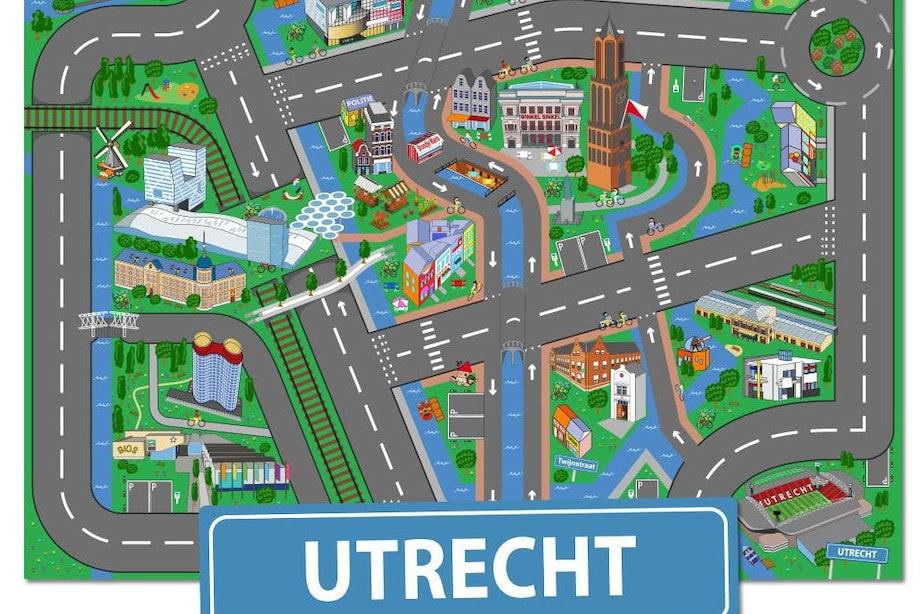 Bekend kinderspeelkleed krijgt Utrechtse uitvoering