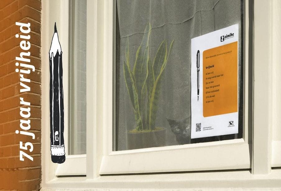 Vrijheid vieren met een gedicht voor je raam | gedicht 2