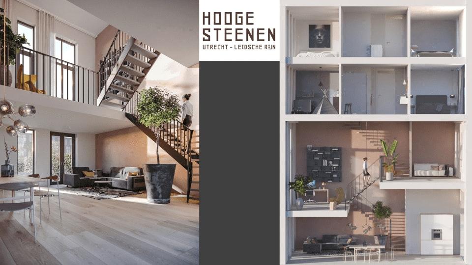 Hooge Steenen: royale herenhuizen, centraal in Utrecht