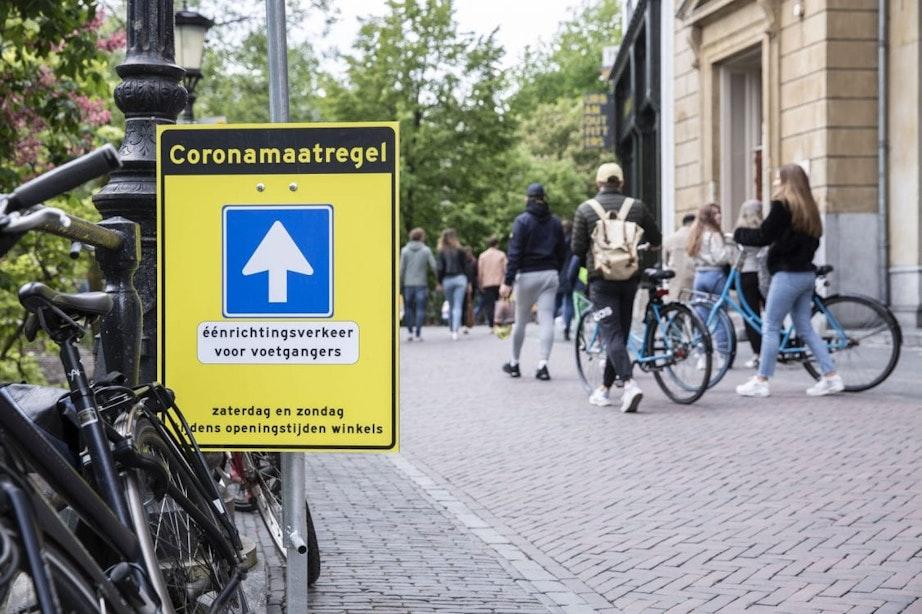 Voetgangersgebied in Utrecht wordt tijdelijk flink groter