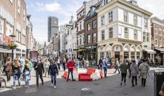 Bezoekers moeten wennen aan nieuwe regels Utrechtse binnenstad