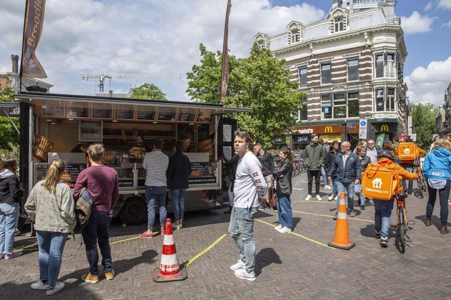Extra coronamaatregelen tegen drukte in Utrechtse binnenstad en markten