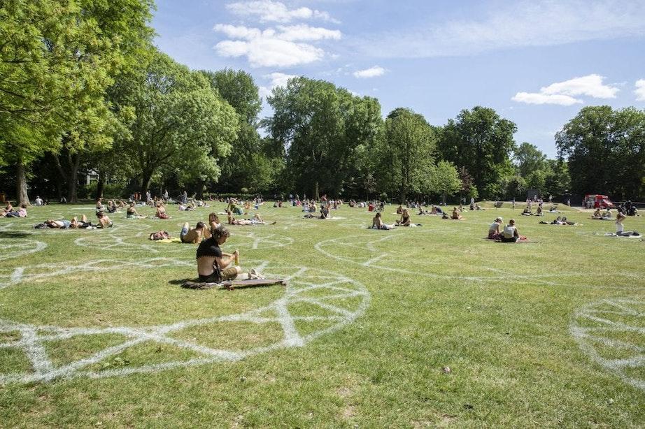 Julianapark in Utrecht blijft komende week twee uur langer open