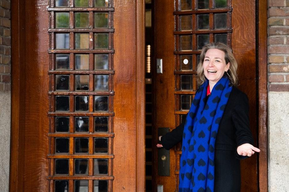 Enthousiasme bij opening bibliotheek aan de Neude in Utrecht