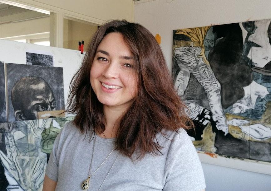 Utrechtse kunstenaars: Benine du Toit, van Zuid-Afrika naar Utrecht