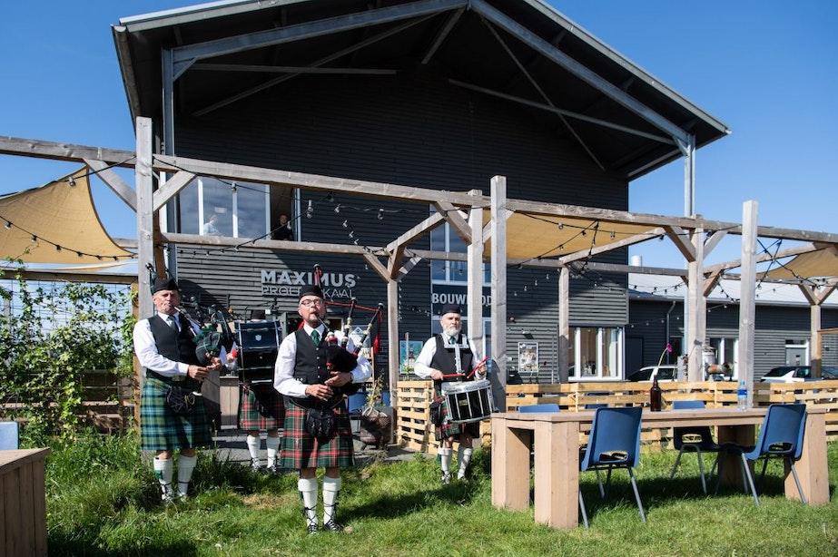 Brouwerij Maximus plaatst 'Schotten' op terras: 'Klaar om weer open te gaan'