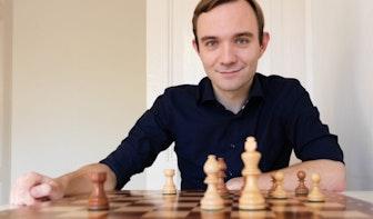 Hugo ten Hertog is Utrechts eerste schaakgrootmeester