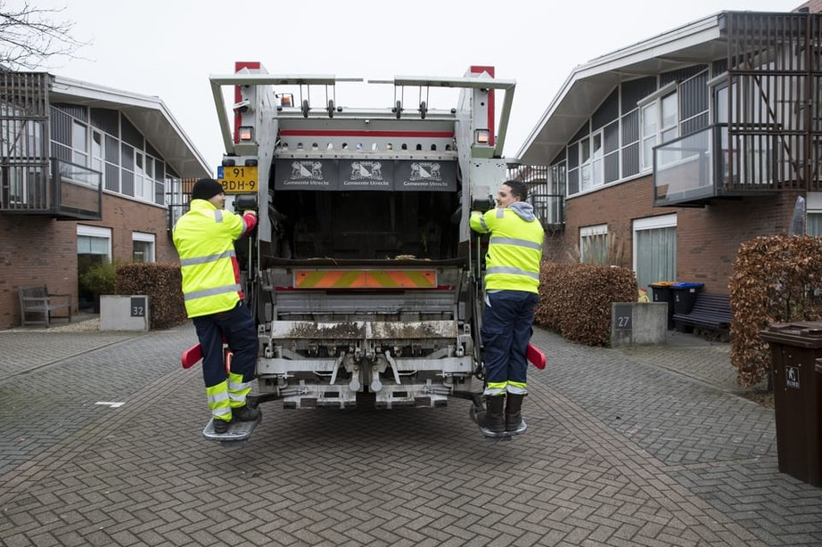 Afvalinzameling Utrecht rond Hemelvaartsdag