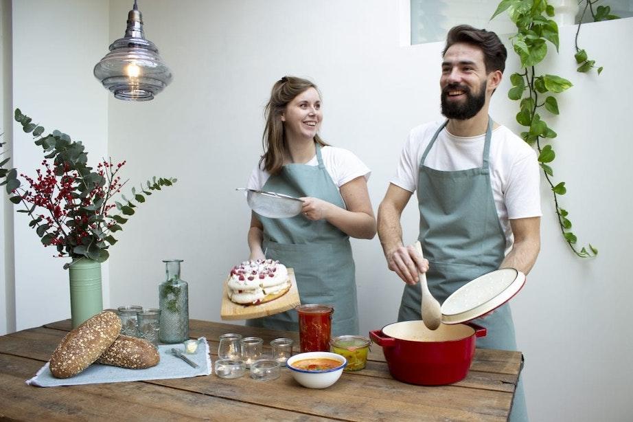 Janine en Tom begonnen tijdens de coronacrisis soepbar Soep-er op de Vismarkt: 'We besloten om met de veranderingen mee te bewegen'