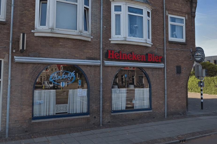 Het bekende Café Elinkwijk gaat niet meer open
