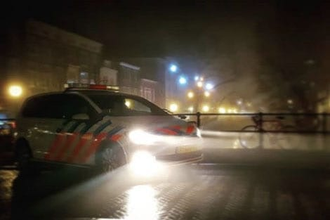 Beginnend bestuurder met slok op rijdt bijna in op politieauto in Utrecht