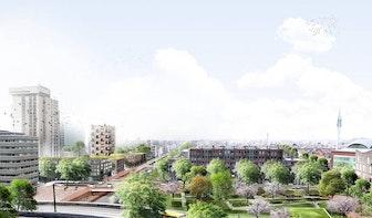 Zo moet het Lombokplein in Utrecht er over een aantal jaar uitzien