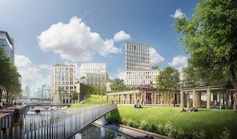 De bouw van Smakkelaarspark in Utrecht is begonnen