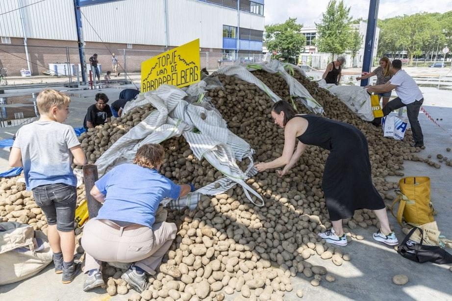 Aardappelberg in Utrecht: 'Sommige mensen hebben dit nodig'