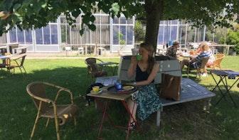 Rondje van Jette: 'Heerlijk, weer eens met een kop koffie op het terras'