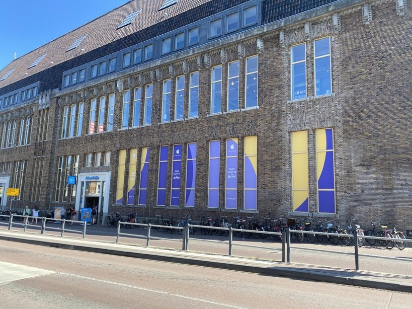 Flagshipstore Amac opent in oude postkantoor