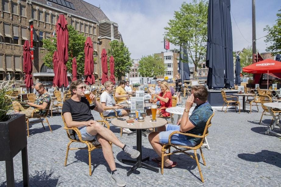 Foto's: De Utrechtse terrassen zijn weer open