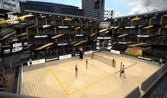 Op het Jaarbeursplein komt het eerste internationale sportevenement sinds coronacrisis