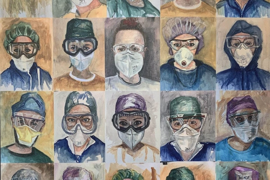 Utrechtse kunstenaars: Marco de Vente – verpleegkundig kunstenaar