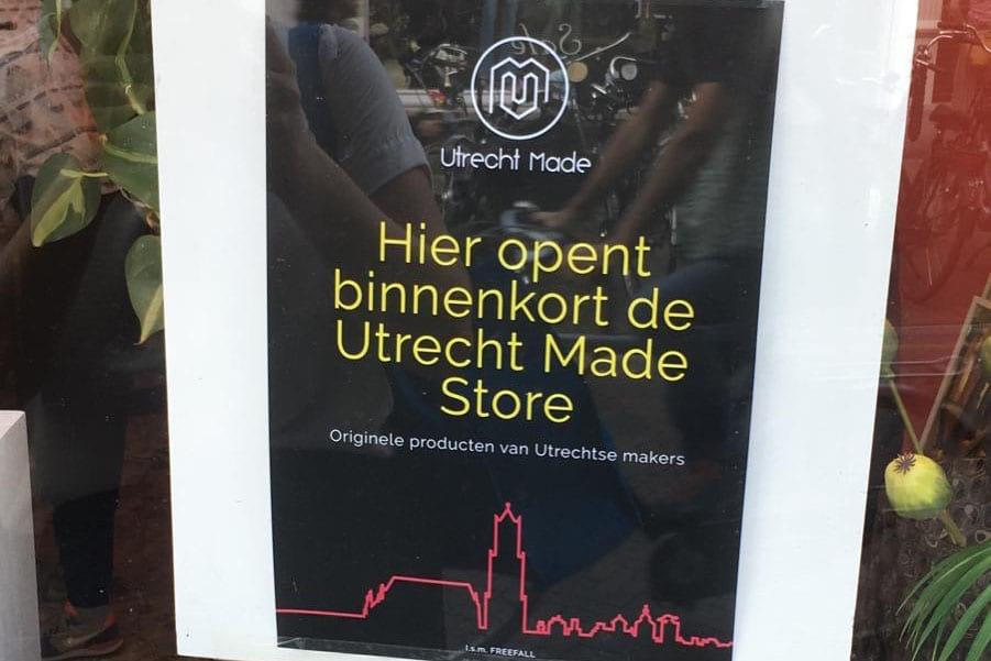 Utrecht Made krijgt winkel aan de Twijnstraat in Utrecht