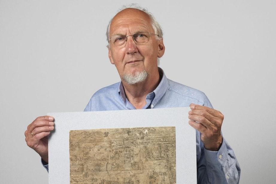 Oud-stadsarcheoloog Tarq Hoekstra op 81-jarige leeftijd overleden
