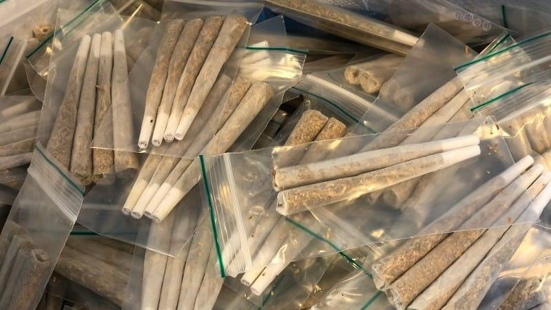 3000 joints gevonden in auto in Utrecht