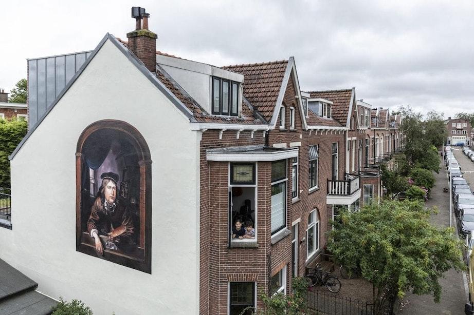 De Utrechtse Schildersbuurt heeft een nieuw meesterwerk van De Strakke Hand