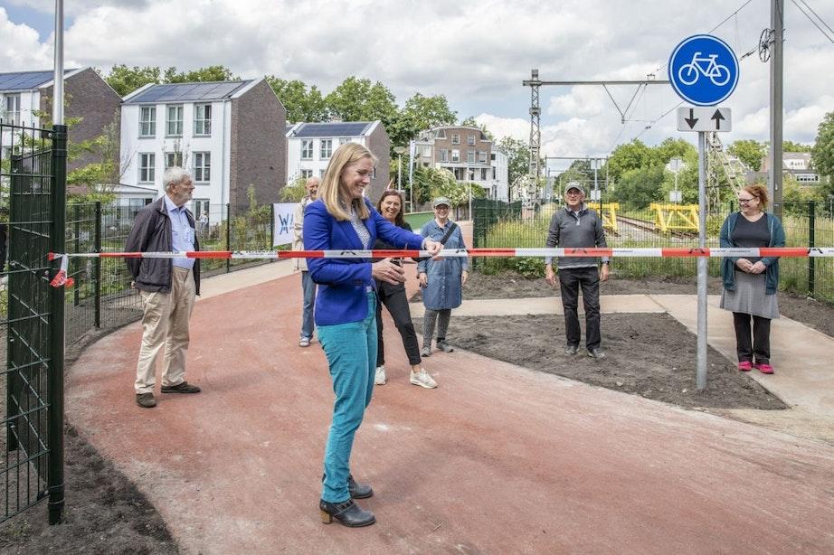 Feestelijke opening laatste deel park Oosterspoorbaan – verbinding met binnenstad nu een feit
