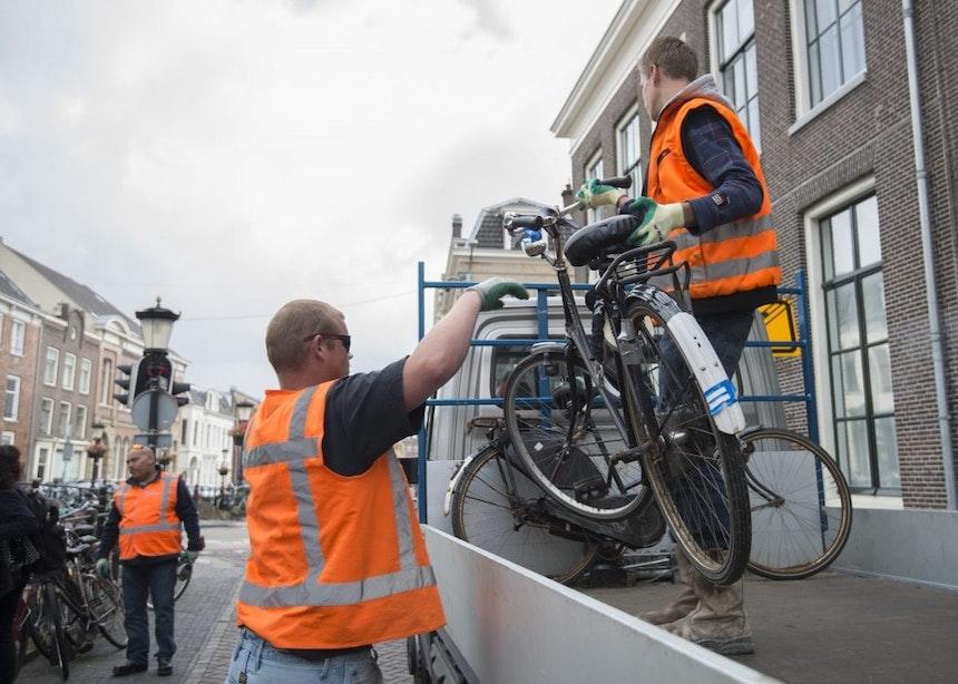 Ruim 9100 verwijderde fietsen in Utrecht werden vorig jaar nooit opgehaald