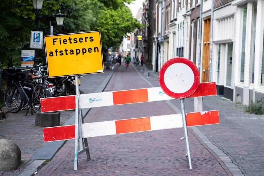 Tijdelijke uitbreiding voetgangersgebied in centrum Utrecht verlengd tot 26 oktober