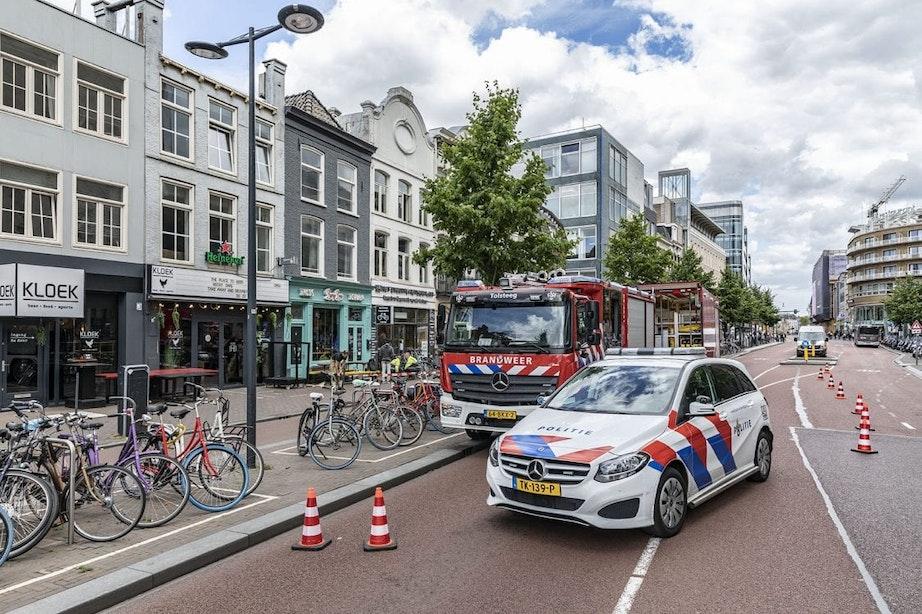 Vredenburg in Utrecht deels afgesloten vanwege gaslek; omliggende panden ontruimd