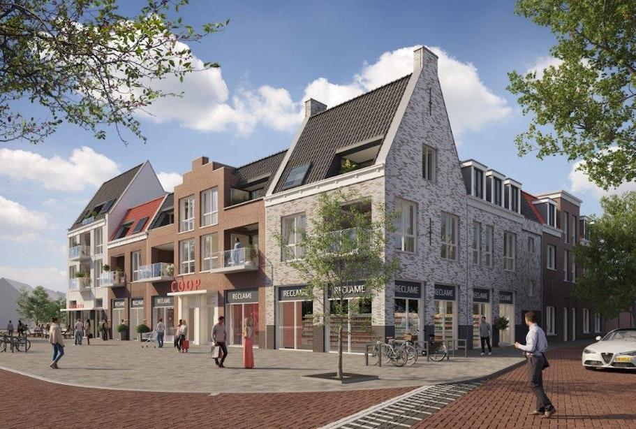 Verkoop appartementen Hoef en Haag start