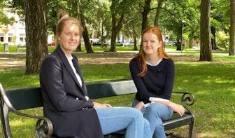 Zomer in Utrecht: Studente Julia zit vast op de campus