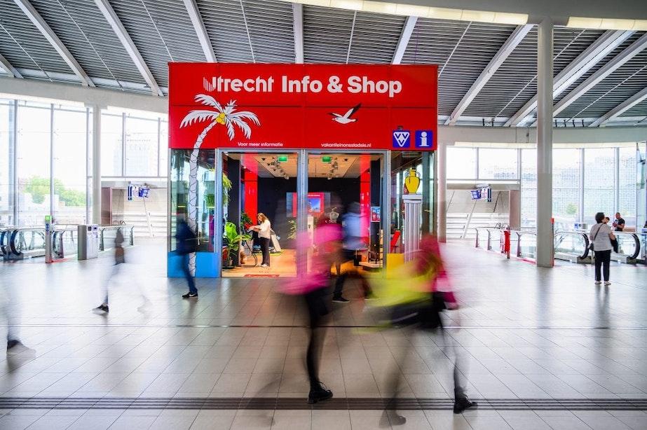 Utrechtse vakantiewinkel geopend op centraal station