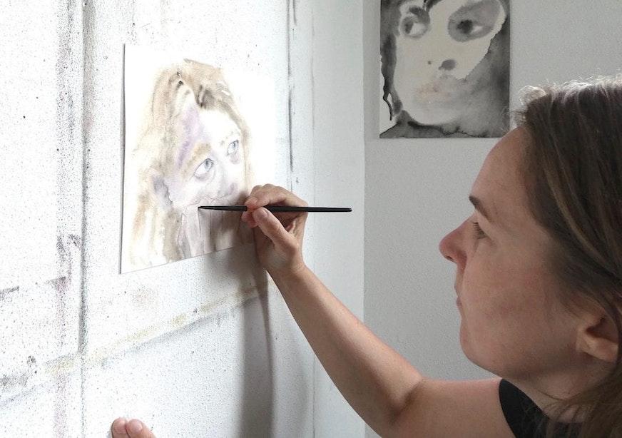 Utrechtse kunstenaars: Maeve van Klaveren, portretten die je raken