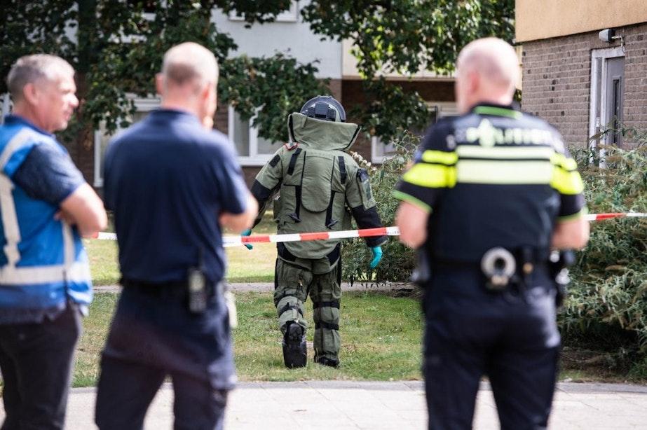 Video: Defensie brengt in Utrecht gevonden explosief tot ontploffing
