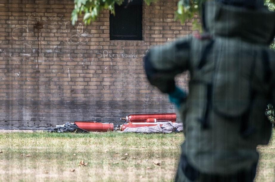 In Utrecht gevonden explosieve stoffen en gasflessen waren bedoeld voor plofkraak