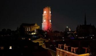 Utrechtse gebouwen kleuren rood om aandacht te vragen voor evenementenbranche