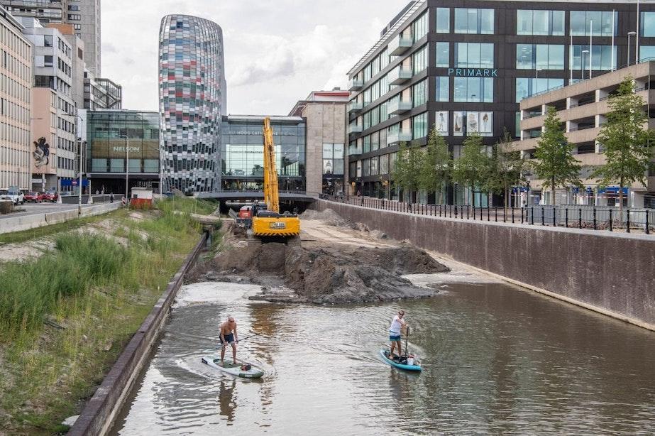 Varen of surfen op nieuwe singel in Utrecht nog even niet de bedoeling
