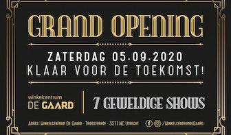 Grand opening winkelcentrum De Gaard