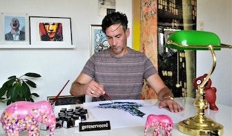 Utrechtse kunstenaars: Lars van den Sigtenhorst, kleurrijke domtorens